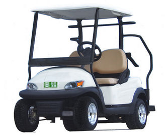 3.7 Kw Motor Gücü 4 Wheel Drive Mobility Scooter Beyaz Electric Golf Car